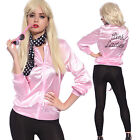 Sexy Cosplay Costume Carnevale Giacca Pink Ladies Grease film donna anni 50