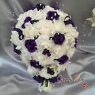 crystal wedding bouquet