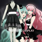 Vocaloid Megurine Luka Magnet Cosplay Costume Anime Full Set FREE P&P