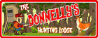 Custom Buck Hunting Lodge Sign Log Cabin Decor Camping Sign Stag Wall Art C1222