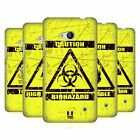HEAD CASE DESIGNS HAZARD SYMBOLS HARD BACK CASE FOR MICROSOFT LUMIA 640