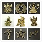 8PCS Bronze Alloy Kinds Of Angels Craft Charm Pendant Jewelry Clearance