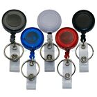 GTI - 3 Pcs Retractable Pull Chain Badge ID Holder Reel Recoil Key Ring Clip