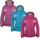 Trespass MAY Womens Ladies Windproof Rain Coat Waterproof Jacket
