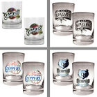 Choose NBA Team Primary Logo 2PC. 14oz Rocks Glass Tumbler Set by Great American