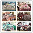 New Floral Queen Size Bed Quilt/Doona/Doona Cover Set New Long-Staple Cotton
