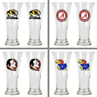 Choose Your NCAA Team 2PC Premiere 19oz Pilsner Beer Glass Set by Great American