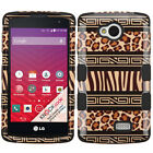 For LG Verizon Transpyre IMPACT TUFF HYBRID Case Skin Phone Cover Accessory