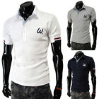 DESIGNER MENS T-SHIRTS STYLISH CASUAL POLO SHIRTS SUMMER T-SHIRTS TOPS TEE S~XL