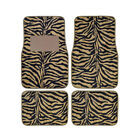21Brand New 4pcs Set Safari Animal Print Front Rear Car Truck Carpet Floor Mats