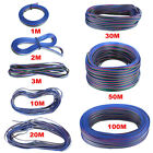 20M/50M/100M 4-Pin 3528 5050 RGB LED Light Strip Extension Wire Connector Cable