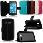 Magnetic Flip Leather Case Stand Wallet Cover fr Alcatel One Touch Series Phones