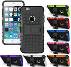 NEW RUGGED GRENADE GRIP TPU SKIN HARD CASE COVER STAND FOR APPLE iPHONE MODELS