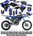 2010-2013 YAMAHA YZ 450F GRAPHICS KIT DECALS 450 F YZ450F STICKERS 2011 2012