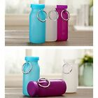 Outdoor Travel Silicone Water Cup Environmental Foldable Portable Bottle Cup LJ