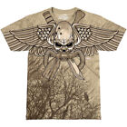 7.62 DESIGN USMC RECON SWIFT SILENT DEADLY MENS T-SHIRT CASUAL MILITARY TOP SAND
