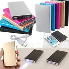Thin 20000mAh※LED※External Backup Battery Charger Portable Power Bank For Phone