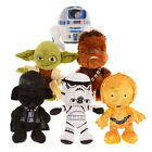 """DISNEY STAR WARS PLUSH 8"""" OFFICIAL SOFT TOYS AGE 0+ NEW"""