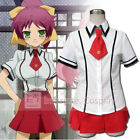 Baka and Test Fumizuki Academy Girls Summer Uniform.Cosplay Costume FREE P&P