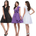 dress 2015 50's 60's VINTAGE PINUP SWING PROM PARTY OFFICE WORK DRESS