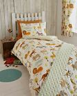 Animals Lion Zebra Tiger Childrens Quilt Duvet Covers Or Curtains Or Throwover