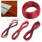 10/50M 2Pin Extension Wire Connector Cable Cord 3528 5050 Single LED Strip Light