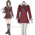 Hiiro no Kakera 3 Tamaki Kasuga Red School Uniform Cosplay Costume FREE P&P