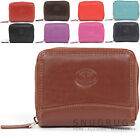 Ladies /Womens Soft Leather Concertina Credit Card / Travel Card Holder / Wallet