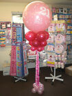 Giant Balloon Decoration Column Display Kit - BIRTHDAY ANNIVERSARY