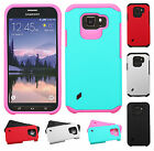 AT&T Samsung Galaxy S6 Active HARD Astronoot Hybrid Silicone Case + Screen Guard