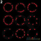 Bicycle 7LED Lights Neon Bike Motorcycle Lamp Tire Spoke Wheel Valves New