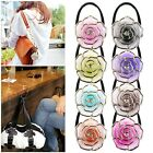 Rose Folding Purse Handbag Tote Hook Hanger Hold Umbrella Holders Bag Accessory