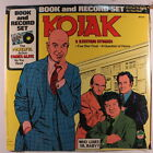 A KORB: Kojak - 2 Exciting Stories LP Sealed (co, book & record set) Spoken Wor