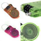 3 Feet Retractable BMX Bike Bicycle Cycle Cable Combination Lock Luggage Safety