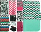For LG Sunrise L15G Leather Premium Wallet Case Pouch Flip Phone Protector Cover