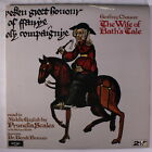 PRUNELLA SCALES & RICHARD BEBB: Chaucer: The Wife Of Bath's Tale LP (UK, 2 LPs,