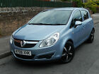 SUPERB 2008 VAUXHALL CORSA 1.3CDTi 16v CLUB DIESEL 5 DOOR, AIR CONDITIONING, PX