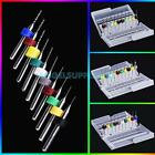 New 10Pcs PCB Drill Tungsten Steel Alloy Carving Engraving Drill Bits Set Kit