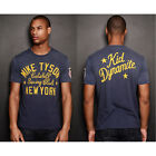 Roots of Fight Tyson Kid Dynamite T-Shirt - Sun Faded Navy