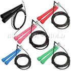 Gym Fitness Workout Cable Steel Jump Skipping Speed Jumping Rope Crossfit Boxing