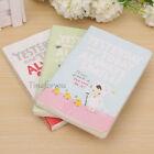 """Always Smile""boxed Diary Schedule Notebook Notepad Notes Calendar Planner"