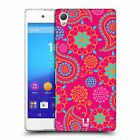 HEAD CASE DESIGNS PSYCHEDELIC PAISLEY HARD BACK CASE FOR SONY XPERIA Z3 PLUS