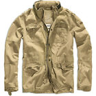 BRANDIT BRITANNIA MILITARY CADET FIELD JACKET MENS PARKA WARM TRAVEL COTTON COAT