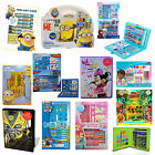 Disney & Kids Character Fun Play School Activity Stationery Art Travel Set New