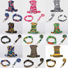 Adjustable Soft Mesh Pet Puppy Small Dog Collar Lead Leash Harness Set Vest Clip