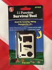 Survival 11 function tool bug out bag emergency tactical disaster kit camping