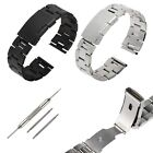 22mm Bande Bracelet de Montre en Acier Inoxydable Pr Samsung Gear 2 / LG G Watch