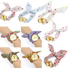 New Women Lady Geneva Wave Cloth Band Quartz Dress Tie Belt Bracelet Wrist Watch