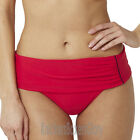 Panache Veronica Folded Bikini Brief/Bottoms Red SW0647 Select Size