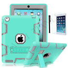 Hybrid Shockproof Protect Military Heavy Duty Case Cover For iPad Mini Air Pro